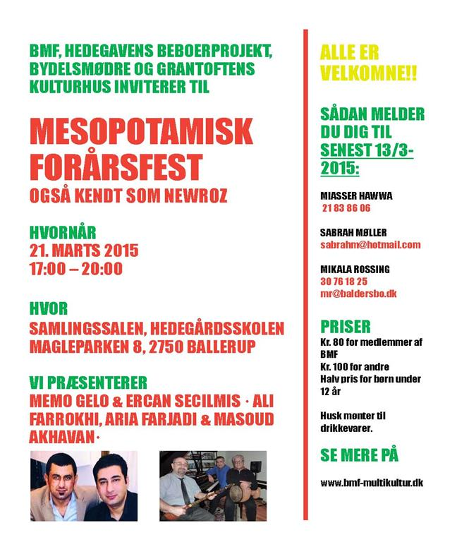 Mespotamisk fest - plakat (Medium)